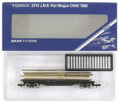 【中古】Nゲージ/TOMIX 2774 国鉄貨車 チキ7000形 2011年ロット【A】