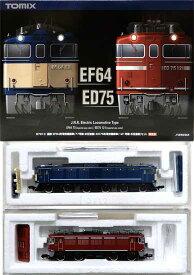 【中古】Nゲージ/TOMIX 97913 国鉄 EF64形電気機関車(77号機・お召塗装)・ED75形電気機関車(121号機・お召塗装) 2両セット 限定品【A】
