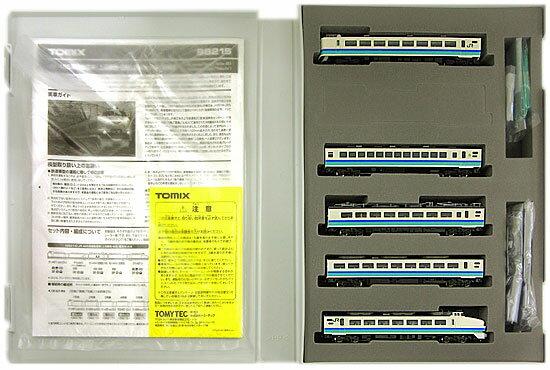 【中古】Nゲージ/TOMIX 98215 JR 485系特急電車(上沼垂色・白鳥) 5両基本セットA【A】