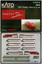 【中古】Nゲージ/KATO K10910 TGV Thalys PBKA 10 car set (欧州 TGV タリス PBKA型)【A'】※外箱傷み(目立つ「...