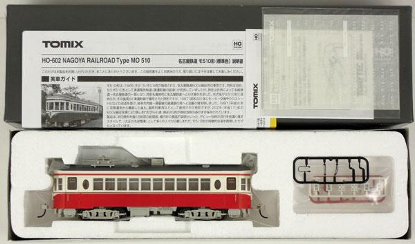 【中古】HOゲージ/TOMIX HO-602 名古屋鉄道 モ510形(標準色) 2007年ロット【A'】外箱若干の傷み
