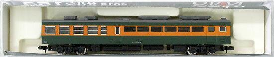 【中古】Nゲージ/KATO 4018 サハシ153 緑インサートロット(広セキ表記)【A】