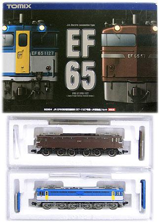 【中古】Nゲージ/TOMIX 92964 JR EF65電気機関車(57・1127号機・JR貨物色) 2両セット 限定品【A'】※外箱/スリーブ傷み