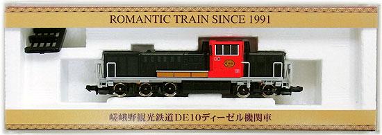 【中古】Nゲージ/TOMIX 93116 嵯峨野観光鉄道 DE10ディーゼル機関車【A】