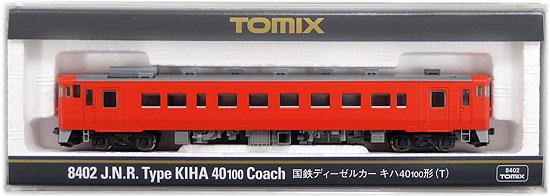 【中古】Nゲージ/TOMIX 8402 国鉄ディーゼルカー キハ40 100形 (T) 2009年ロット【A】
