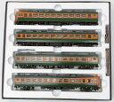 【中古】HOゲージ/TOMIX HO-9012 国鉄153系急行電車(冷改車・低運転台)4両基本セット【B】モハ152(M) 側面窓下塗装不良