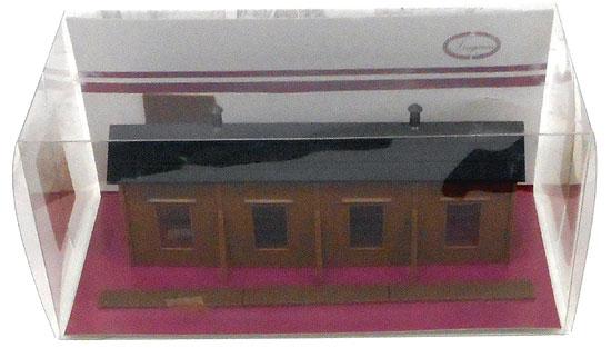 【中古】Nゲージ/津川洋行 LA-108 木造機関庫(単線用)【A'】※ブリスター若干傷み ※パッケージ中のパーツ固定セロテープ剥がれ
