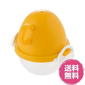 【日本製】【送料無料】ezegg レンジでゆでたまご1個用 オレンジEZ-28曙産業::02P03Dec45(一部地域配送を除く)