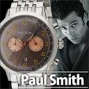 ポールスミス 時計 PaulSmith 腕時計 ポール スミス 腕時計 Paul Smith 時計 ポールスミス時計 プレシジョン PRECISION メンズ ブラウン P10019 メタル ベルト クロノグラフ シルバー 新作 人気 ブランド ビジネス シンプル プレゼント ギフト 送料無料