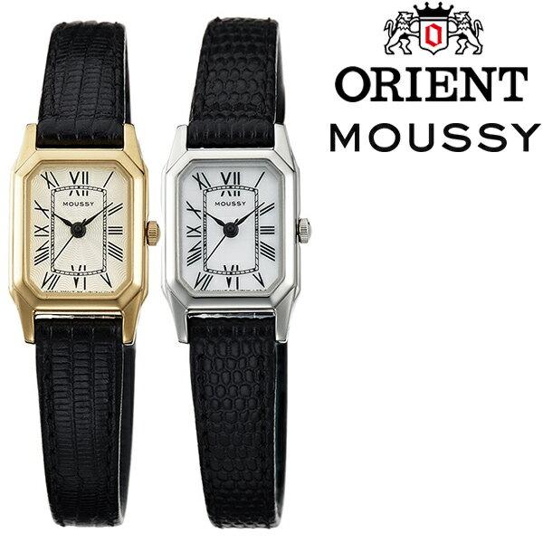 【正規品】 マウジー 腕時計 MOUSSY 時計 レディース [ オリエント 革 ベルト ゴールド シルバー 長方形 おしゃれ フリマ プレゼント ][ バーゲン ]