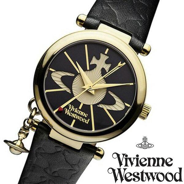 ヴィヴィアンウエストウッド 腕時計 Vivienne Westwood 時計 ヴィヴィアン レディース ブラック