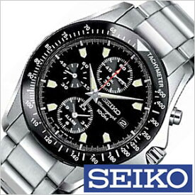 (2300円引き)[13%OFF]セイコー 腕時計 SEIKO 時計 クロノグラフ 海外モデル メンズ ブラック SNA487PC [ プレゼント 人気 定番 生活 防水 ]