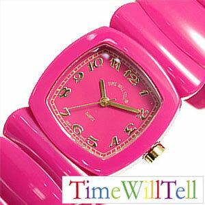 タイムウィルテル腕時計 TimeWillTell時計 Time Will Tell 腕時計 タイム ウィル テル 時計 モノトーン フクシャ MONOTONE Fuchsia レディース ピンク TIMEWILLTELL-0006 プレゼント ギフト 祝い 入学 卒業 祝い