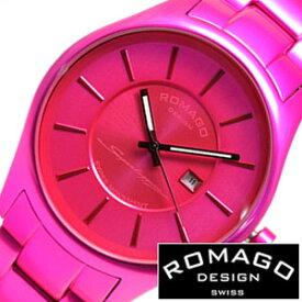 (13537円引き)[68%OFF]ロマゴデザイン 腕時計 ROMAGO DESIGN 時計 ロマゴ スーパーレジェーラ [ Super leggera ] メンズ ピンク RM029-0290AL-PK 人気 新作 ブラック