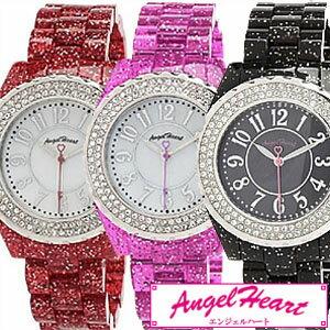 【正規品】 エンジェルハート 腕時計 Angel Heart 時計 ラブスポーツマリン レディース ホワイト WL39C [ シェル スワロフスキー クリスタル エレメント ]