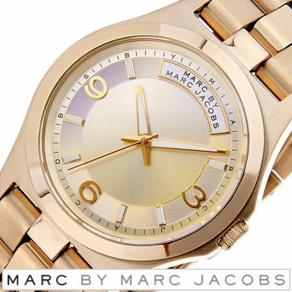 マークバイマークジェイコブス 時計 MARCBYMARCJACOBS 時計 マークジェイコブス 腕時計 MARCJACOBS 腕時計 マークバイ腕時計 MARCBY腕時計 マーク時計 マーク腕時計 マーク MARC ベイビー デイブ BABY DAVE メンズ レディース ゴールド MBM3231 おすすめ 送料無料