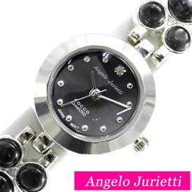[当日出荷] アンジェロジュリエッティ 腕時計 Angelo Jurietti 時計 Angel 腕時計 レディース かわいい プチプラ ホワイト AJ4042-BK おしゃれ 革ベルト バングル キッズ 人気 大人 ブランド 生活 防水 [ プレゼント ギフト 新生活 ]