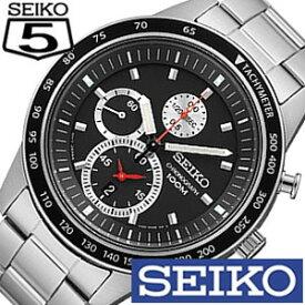 (3000円引き)[17%OFF]セイコー 腕時計 SEIKO 時計 クロノグラフ メンズ 海外モデル SNDD85P1 [ SNDD85PC ブラック 定番 生活 防水 ]
