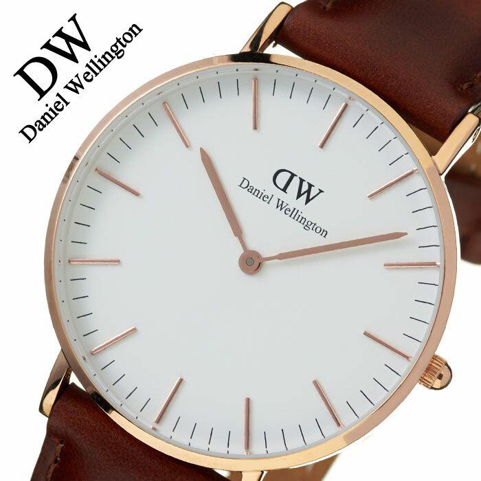 【正規品】 ダニエルウェリントン 腕時計 Daniel Wellington 時計 クラシック セントアンドルーズ ローズ CLASSIC 36mm メンズ レディース 0507DW [ 人気 ]