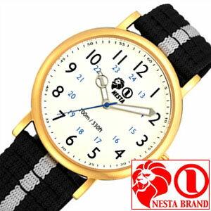 ネスタブランド腕時計[NESTABRAND時計](NESTABRAND腕時計ネスタブランド時計)サンタモニカ(SantaMonica)メンズレディースユニセックス/男女兼用腕時計/アイボリー/SA38GDBK[おしゃれnestabrandSANTAMONICAブラックグレー黒]
