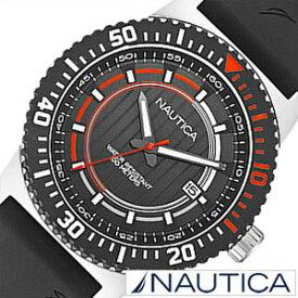 1200cca14f46d1 ノーティカ腕時計 NAUTICA時計 NAUTICA 腕時計 ノーティカ 時計 デイト スポーツ アクティブ NST16 SPORT ACTIVE  メンズ ブラック オレンジ A12637G アナログ おしゃれ ...