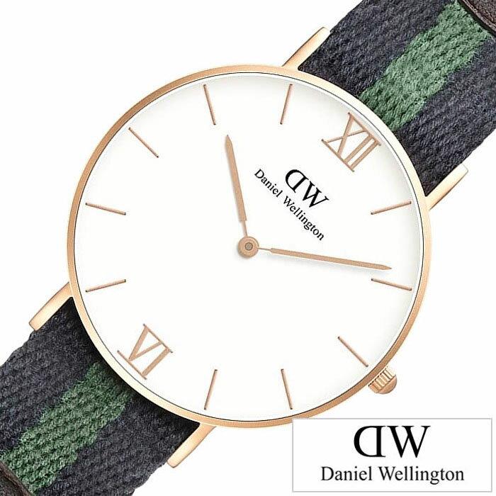 【正規品】 ダニエルウェリントン 腕時計 Daniel Wellington 時計 グレース ウォリック GRACE WARWICK メンズ レディース ローズゴールド 0553DW [ 人気 ]