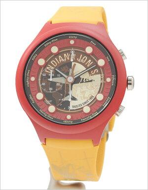 インディジョーンズ腕時計(INDIANAJONES腕時計インディジョーンズ時計)メンズレディースユニセックス/男女兼用腕時計/オレンジブラウン/GSX-SMARTSTYLE-46[コラボモデルAdventure数量限定モデル純国産日本製SMARTstyle#46レッドシルバー]