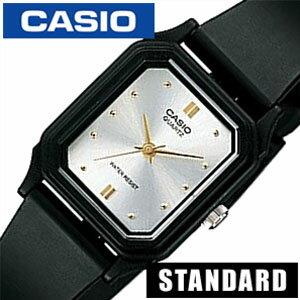 カシオ腕時計 CASIO時計 CASIO 腕時計 カシオ 時計 スタンダード ベーシック STANDARD BASIC ANALOGUE レディース シルバー LQ-142E-7A アナログ 海外モデル シンプル ブラック 黒 銀 3針 おしゃれ かわいい ブランド 生活 防水