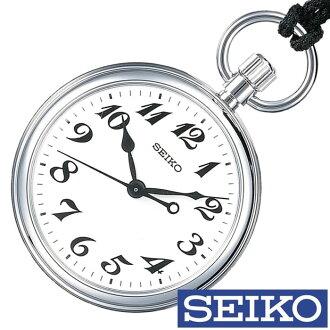 精工铁道钟表SEIKO钟表SEIKO铁道钟表精工钟表人SVBR003[模拟铁道钟表怀表白银子白银7C21玩笑喜爱的商务名牌礼物]