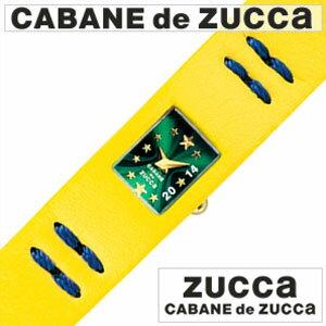 【5年保証対象】カバンドズッカ腕時計 CABANEdeZUCCA時計 カバン ド ズッカ 時計 CABANE de ZUCCA 腕時計 カバンドズッカ CABANEdeZUCCA ズッカ 時計 zucca 腕時計 セレソン Selecao メンズ レディース グリーン AWGK092 おしゃれ プレゼント 薄型 個性的 送料無料