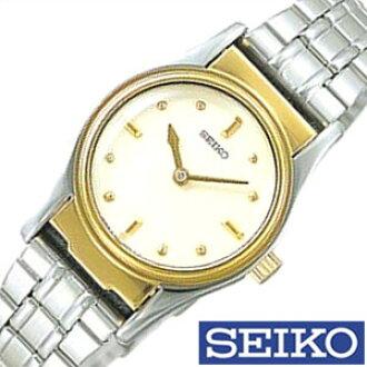 精工盲人钟表SEIKO钟表SEIKO盲人钟表精工钟表女士象牙SQWK024[模拟盲人钟表一对表消费税免税对象品银子黄金4J27礼物]