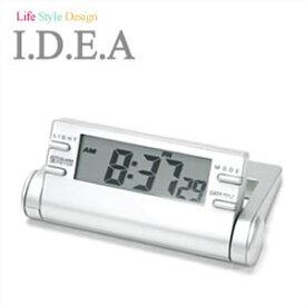 [あす楽]I.D.E.Ainternational イデア置時計 IDEAクロック IDEA 置時計 イデア クロック ideainternational ソーラー時計 solar ソーラー メンズ レディース [ インテリア おしゃれ 小物 北欧 人気 置時計 時計 新生活 ][ プレゼント ギフト ホワイトデー ]