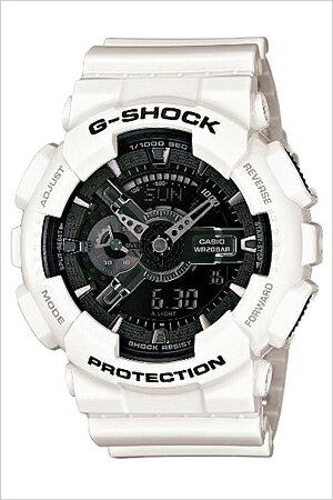 [送料無料]カシオ腕時計[CASIO時計](CASIO腕時計カシオ時計)ジーショック(G-SHOCK)メンズ腕時計/ブラック/CASIOW-GA-110GW-7A[アナデジ/デジタル/液晶/防水/ホワイト/グレー/モノクロ]
