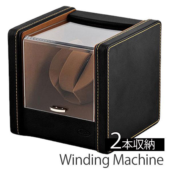 自動巻き上げ機 自動巻き機 ワインディングマシーン 腕時計 時計 ワインディング マシン ウォッチ ワインダー ワインダー 時計ケース 腕時計ケース メンズ レディース SP-43021LBK 1本巻き 1本 1連 機械式 自動巻き 自動巻 機械式腕時計 エスプリマ 送料無料