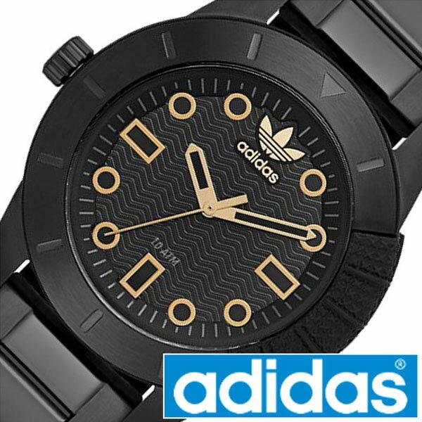 アディダス 腕時計 adidas 時計 アディダス 時計 adidas originals 腕時計 アディダス オリジナルス 時計 adidasoriginals 腕時計 アディダス腕時計 スーパースター SUPERSTAR メンズ レディース ADH3092 メタルベルト スポーツウォッチ ブランド ゴールド