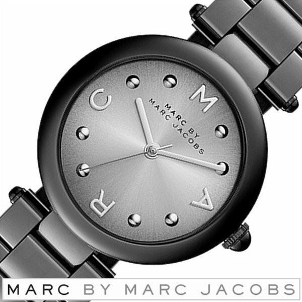 マークバイマークジェイコブス 腕時計 MARCBYMARCJACOBS 時計 マークジェイコブス 時計 MARC BY MARCJACOBS 腕時計 マークバイ マーク ジェイコブス 時計 ドッティ DOTTY レディース グレー MJ3450 ブランド 防水 メタル ブラック 送料無料