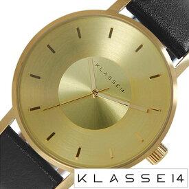 クラス14 腕時計 KLASSE14 時計 クラス フォーティーン KLASSE 14ヴォラーレ VOLARE MARIO NOBILE メンズ ゴールド VO14GD001M [ 42mm 革 ベルト レザー クラッセ ボラーレ マリオ ブラック 北欧 シンプル ]