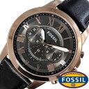 フォッシル 腕時計 メンズ 男性 [ FOSSIL ] フォッシル 時計 [ fossil 腕時計 メンズ ] グラント ( GRANT ) ブラック FS5085 [ 人気 流行 ブランド 防水 レ