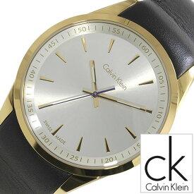 [当日出荷] カルバンクライン 腕時計 CalvinKlein 時計 カルバン クライン 時計 Calvin Klein 腕時計 ボールド Bold メンズ シルバー K5A315C6 人気 ブランド 革 ベルト ブラック ゴールド ck シー ケー ビジネス スイス [ プレゼント ギフト 新生活 ]