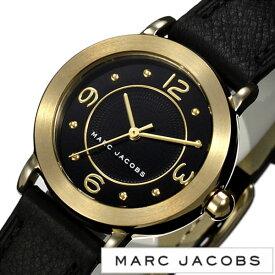 [あす楽]マークジェイコブス 腕時計 MARCJACOBS 時計 マーク ジェイコブス 時計 MARC JACOBS 腕時計 ライリー RILEY レディース ブラック MJ1475 人気 ブランド 防水 革 レザー ベルト マークバイマークジェイコブス ゴールド 送料無料[ プレゼント ギフト バレンタイン ]