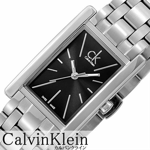 カルバンクライン 腕時計 CalvinKlein 時計 カルバン クライン 時計 Calvin Klein 腕時計 リファイン REFINE レディース ブラック K4P231.41 人気 ブランド シーケー スイス メタル ギフト スクエア シー ケー CK ビジネス ck 時計 送料無料