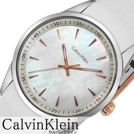 カルバンクライン 腕時計 CalvinKlein 時計 カルバン クライン 時計 Calvin Klein 腕時計 ボールド BOLD メンズ ホワイト K5A31BLG ブランド シーケー レザー ベルト メタル ホワイト シェル シー ケー CK ビジネス ck 時計 [ プレゼント ギフト 新生活 ]