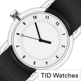 [当日出荷] 【5年保証対象】ティッドウォッチズ 腕時計 TIDwatches 時計 ティッド ウォッチズ 時計 TID watches 腕時計 ナンバースリー NO3 メンズ レディース ホワイト TID03-38WH 正規品 人気 クリア ラバー ティッドウォッチシンプル ブラック おしゃれ カスタム