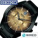【正規品】 セイコー 腕時計 [ SEIKO 時計 ] ワイアード ( WIRED ) メンズ ゴールド AGAT717 [ 人気 ブランド プレゼント メタル 限定 ブラック ジャスティスリーグ J
