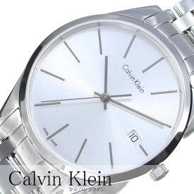 カルバンクライン 腕時計 CalvinKlein時計 Calvin Klein 腕時計 カルバン クライン 時計 タイム Time メンズ シルバー K4N21146 アナログ シルバー ck シーケー シンプル ファッション 人気 シンプル ビジネス ブランド プレゼント ギフト 新生活 母の日