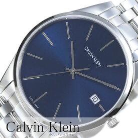 カルバンクライン 腕時計 CalvinKlein時計 Calvin Klein 腕時計 カルバン クライン 時計 タイム Time メンズ ブルー K4N2114N アナログ ブルー シルバー ck シーケー シンプル ファッション 人気 ビジネス ブランド プレゼント ギフト 新生活 母の日