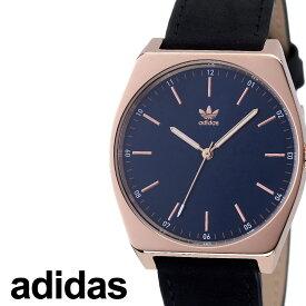 [当日出荷] アディダス 腕時計 adidas 時計 adidas腕時計 アディダス時計 プロセスエル1 PROCESS_L1 メンズ レディース ネイビー Z05-2967-00 [ 人気 お洒落 ブランド ピンクゴールド ラウンド 革 シンプル アナログ カジュアル プレゼント ギフト 新生活 ]