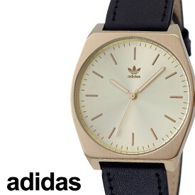 [当日出荷] アディダス 腕時計 adidas 時計 adidas腕時計 アディダス時計 プロセスエル1 PROCESS_L1 メンズ レディース ゴールド Z05-510-00 [ 人気 お洒落 流行 ブランド ラウンド 革 シンプル アナログ カジュアル ストリート ] [ プレゼント ギフト 新生活 ]