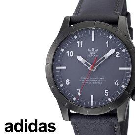 [当日出荷] アディダス 腕時計 adidas 時計 adidas腕時計 アディダス時計 サイファーエルエックス1 CYPHER_LX1 メンズ レディース グレー Z06-2915-00 [ お洒落 流行 ブランド ラウンド 革 シンプル アナログ ストリート ] [ プレゼント ギフト ]