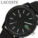 [当日出荷] ラコステ 腕時計 LACOSTE 時計 ユニセックス メンズ レディース 腕時計 ブラック LC2010986 新作 人気 ブ…